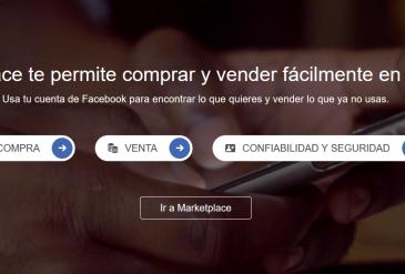 Facebook Marketplace te permite comprar y vender fácilmente en tu zona
